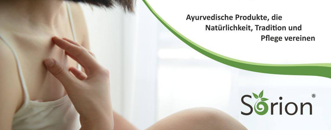 Ayurvedische Produkte, die Natürlichkeit, Tra